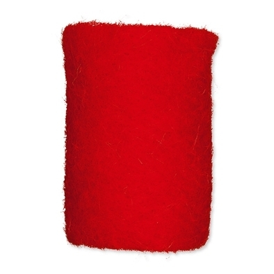 Wollband 12cm x 1m rot Nr.2983-77