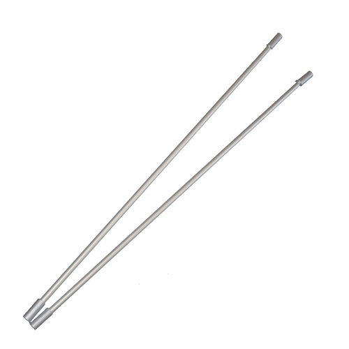 Metall-Look Poles 2er-Set 80 cm