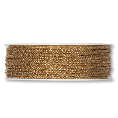 Lurexkordel 2mm x 50m gold metallic
