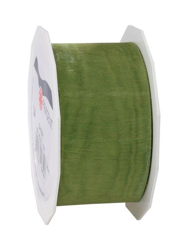 Organzaband SHEER 40mm x 25m olive